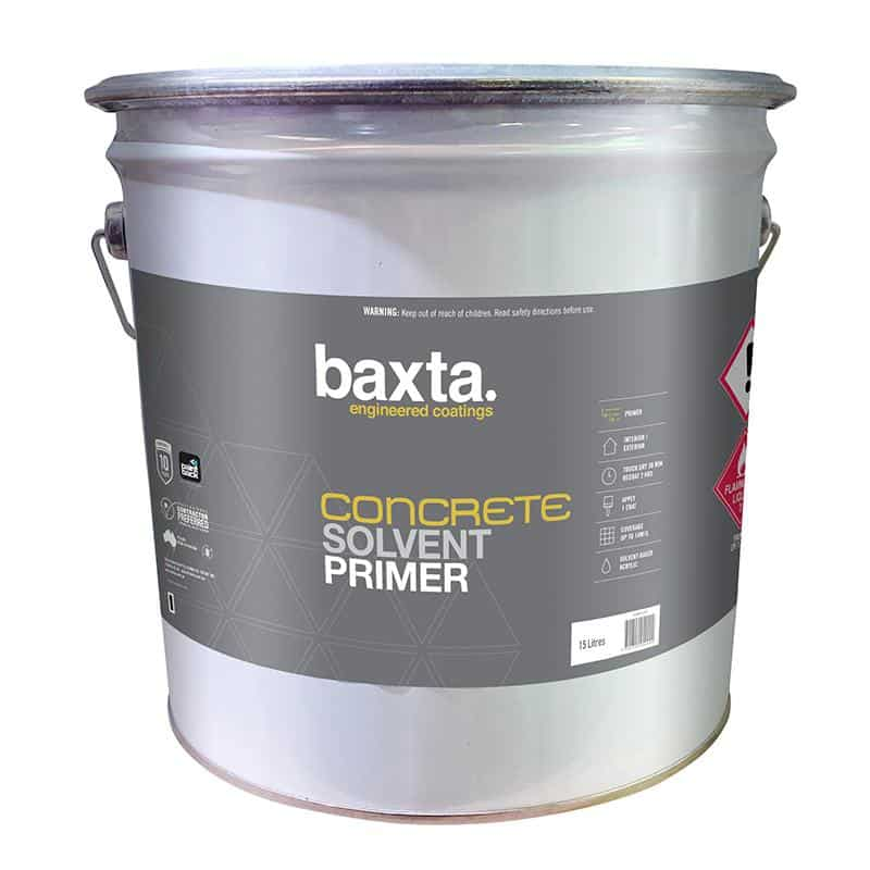 Baxta Concrete Solvent Primer