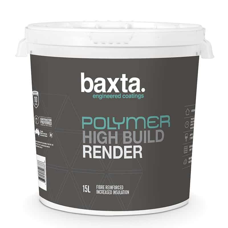 Baxta Polymer High Build Render